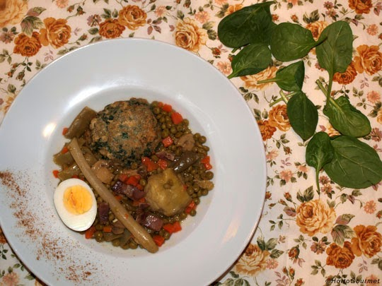Menestra de verduras expr s receta hortogourmet - Como preparar menestra de verduras ...