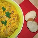 Tortilla de patatas y calabacín - RECETA