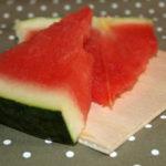Sandía, la fruta preferida del verano