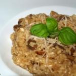 Risotto de setas Portobello y champiñones – RECETA