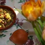 Habas con jamón ibérico y cebolla – RECETA
