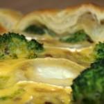 Quiche de brócoli y queso de cabra – RECETA