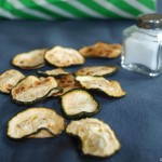 Chips de calabacín II (en horno) - RECETA