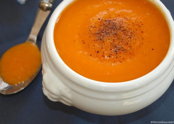 RECETA: Sopa de zanahoria y jengibre