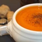 Sopa de zanahoria y jengibre - RECETA