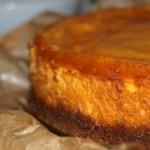 Tarta de queso de calabaza – RECETA