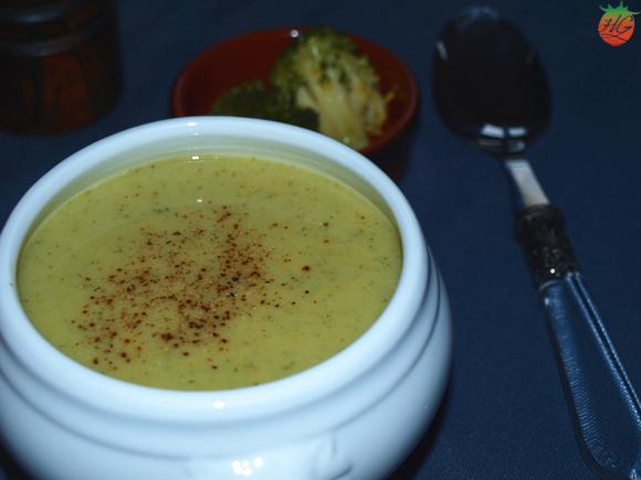 Sopa de brócoli