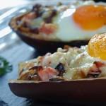 Berenjena rellena con huevo - RECETA
