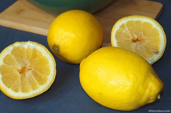 Conocer propiedades de limón