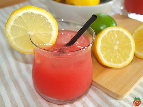 Receta Limonada de sandía HortoGourmet