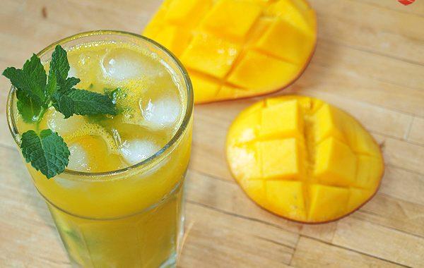 Mojito de mango cóctel