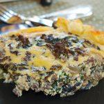Quiche de carne y espinacas – RECETA