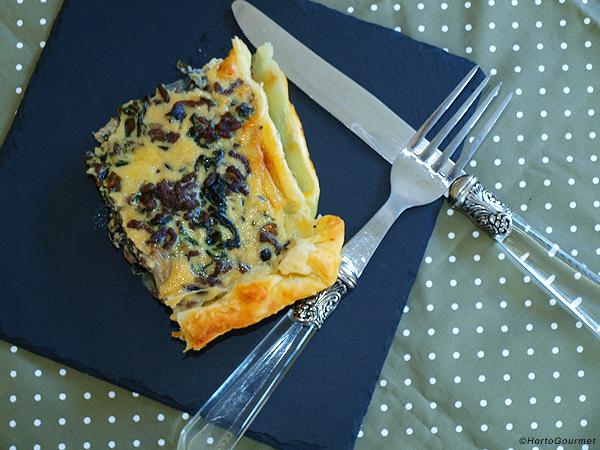 Receta Quiche de carne y espinacas HortoGourmet