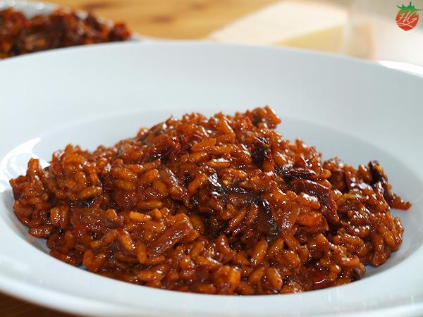 Receta Risotto tomates secos HortoGourmet