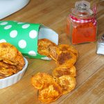 Chips de boniato exprés – RECETA