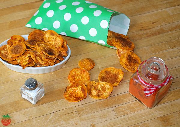Chips de boniato HortoGourmet