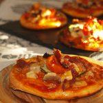 Mini pizzas de calabacín y tomate cherry – RECETA