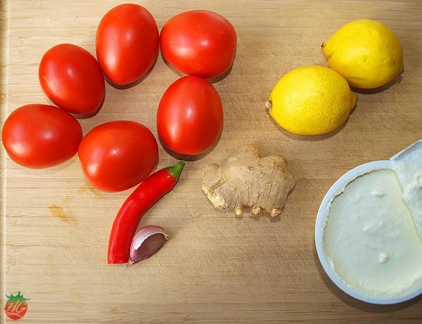 Bavette con salsa de tomate y jengibre receta hortogourmet - Platos de pasta sencillos ...