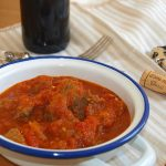 Carne con tomate – RECETA