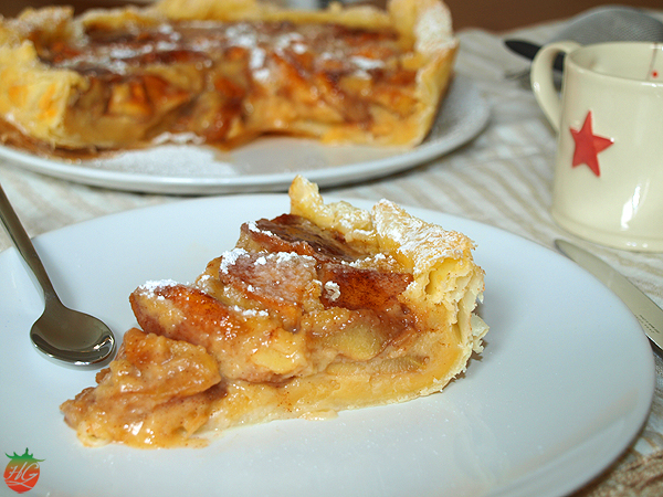 Receta Tarta de manzana HortoGourmet