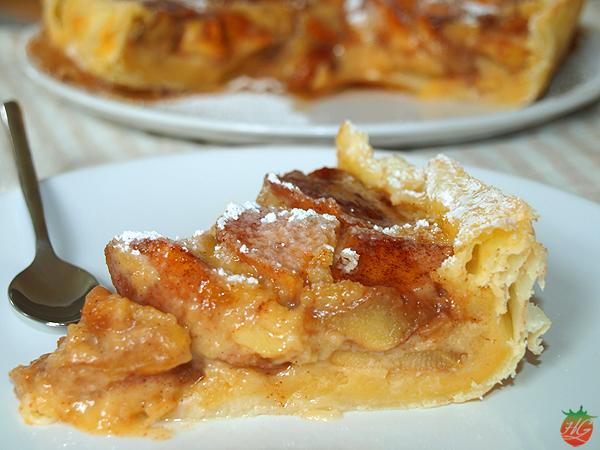 Tarta de manzana HortoGourmet