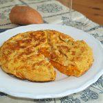 Tortilla de boniato – RECETA