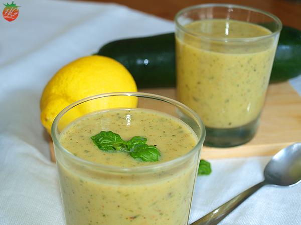 Receta Sopa fría de calabacín HortoGourmet