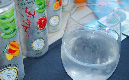 Bebidas refrescantes de aloe vera Alo'E HortoGourmet