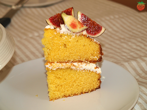 Receta Tarta de higos con miel HortoGourmet