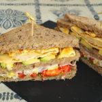 Sándwich de aguacate y huevo – RECETA