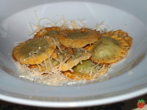 Raviolis de espinacas y queso ricotta HortoGourmet