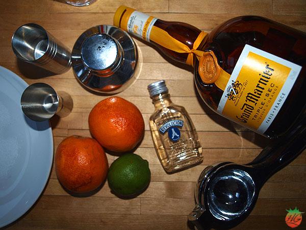 Ingredientes Margarita de naranja sanguina