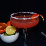 Margarita de naranja sanguina - RECETA