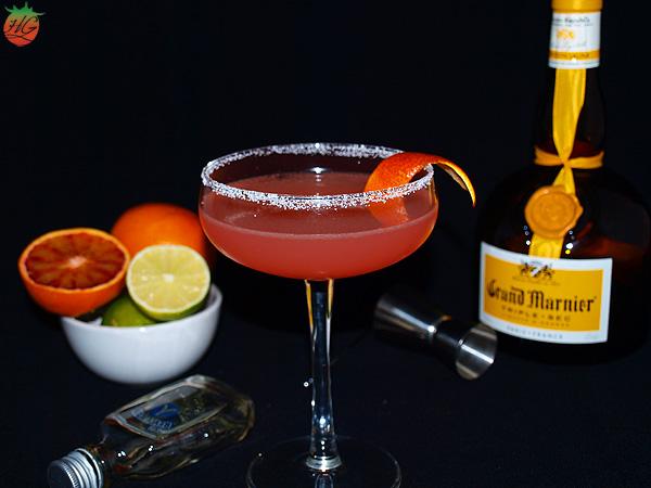 Margarita de naranja sanguina HortoGourmet