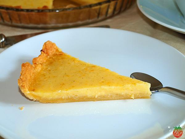 Tarta de limón y vainilla HortoGourmet