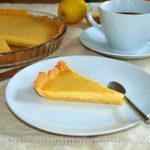 Tarta de limón y vainilla – RECETA
