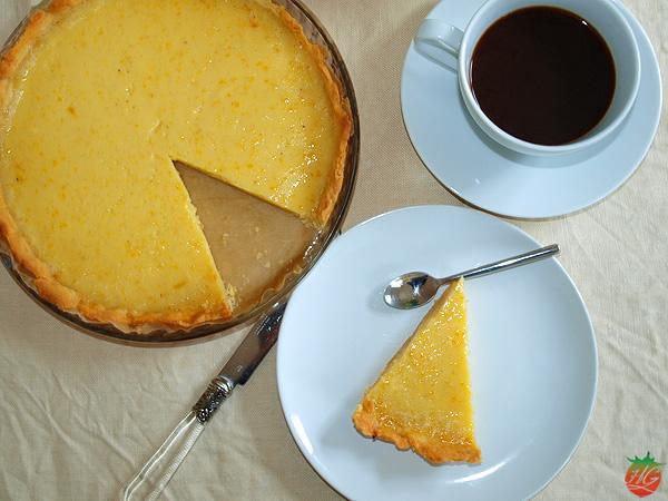 Receta Tarta de limón y vainilla