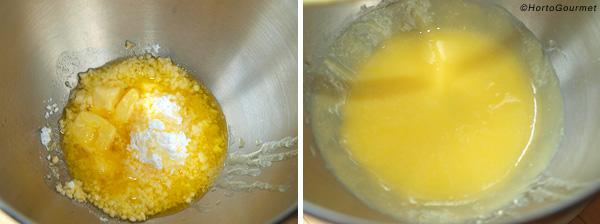 Tarta de limón y vainilla paso 1