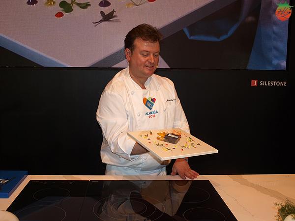 Antonio Carmona en el Salón de Gourmets 2018