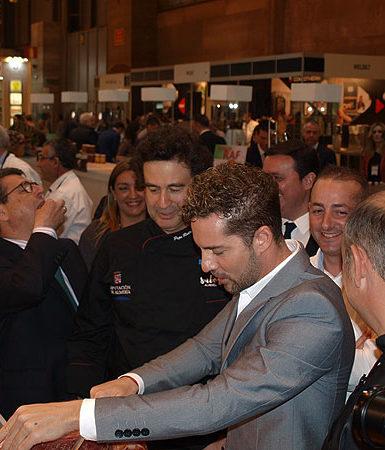 David Bisbal con Sabores Almería HortoGourmet