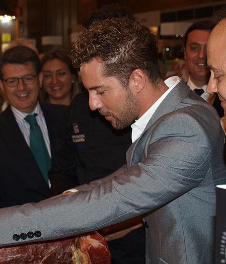 David Bisbal con Sabores Almería