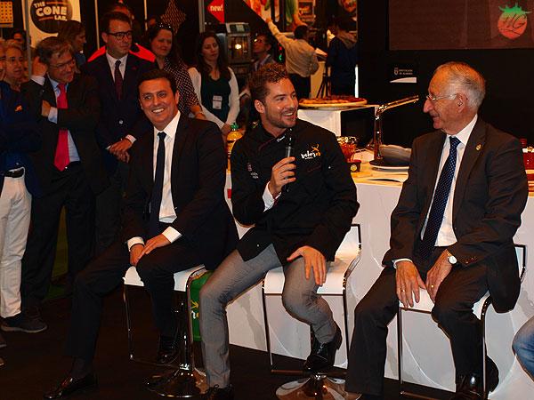 David Bisbal con Almería Sabores en Salón de Gourmets 2018