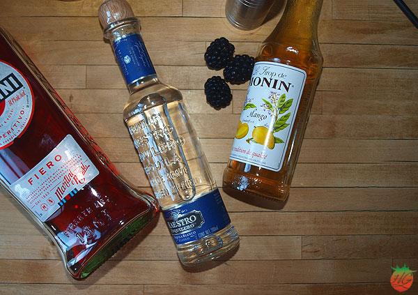 Tequila fiero cóctel