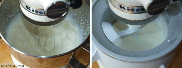 Helado de coco y lima paso 2