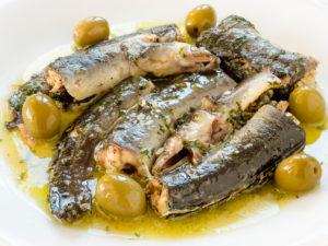 Cocinar con anguilas