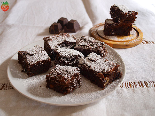 Brownie de chocolate con nueces HortoGourmet