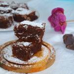 Brownie de chocolate con nueces - RECETA