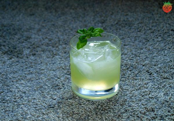 Receta Gin Basil Smash HortoGourmet