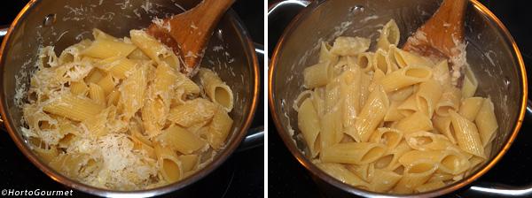 Pasta con tomate y nuez moscada paso 3