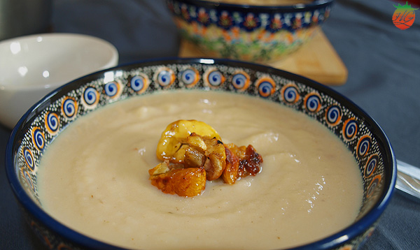 Receta Sopa de apio nabo HortoGourmet